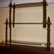 Etagere Mahagoni und Erle um 1870 restauriert 59 b 15 t 60 h 180 €
